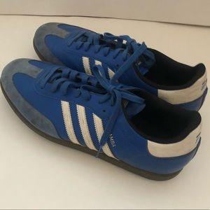 Adidas Samba Mens Golf Cleats 3 Stripes Shoes